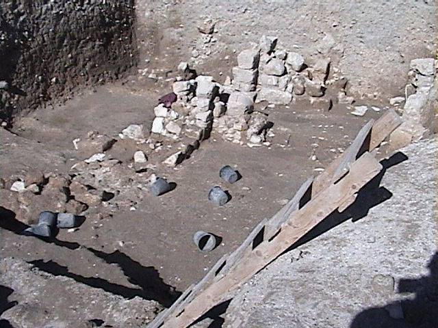 Excavated Wall